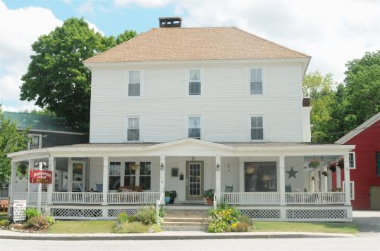 The Cornish Inn is located downtown, the center for antique shops.