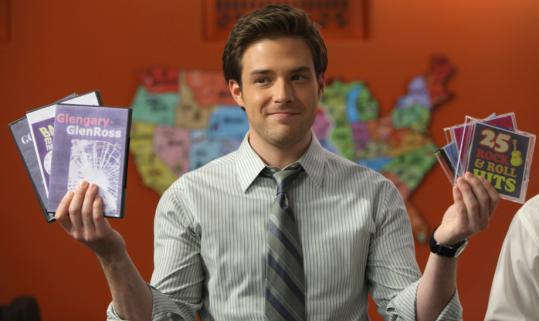 "Ben Rappaport in ""Outsourced,'' a sitcom that takes a look at two cultures."