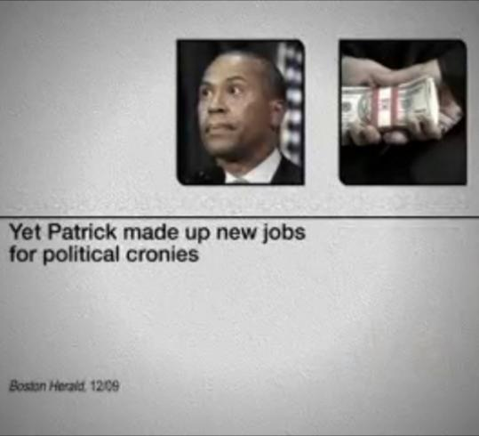 A new television ad being aired by the Republican Governors Association attacks Governor Deval Patrick.