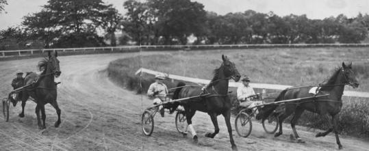 For much of the early half of the 20th century, the Charles River Speedway was a center of harness racing and high society.