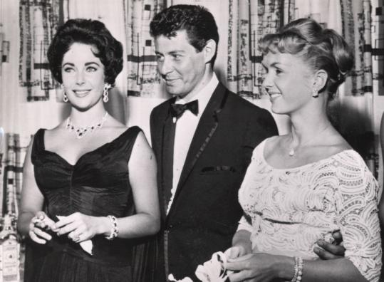 In 1958 Eddie Fisher and wife Debbie Reynolds (right) met Elizabeth Taylor at a Las Vegas nightclub. Just three months later, he divorced Reynolds and took up with Taylor.