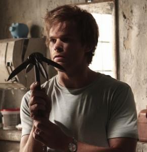 "Michael C. Hall as the serial killer in Showtime's ""Dexter.''"
