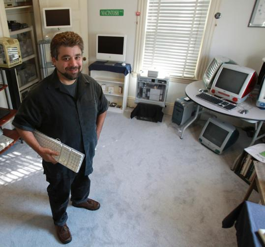 Adam Rosen, an independent IT specialist who provides Apple consulting and tech support services, is a longtime Apple fan who has a vintage Mac museum in his home.