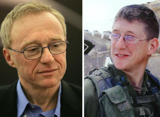 David Grossman, whose son Uri (right) was killed in war, writes of a mother's gnawing fear of losing her soldier son .