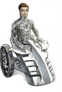 The Silver Scorpion comic book character will be a Muslim boy who lost his legs in a land-mine accident.