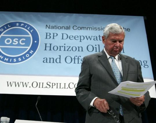 Former Senator Bob Graham participated in a Oil Spill Commission panel discussion yesterday in Washington.