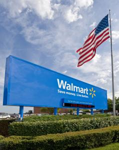 Wal-Mart's push to expand in an emerging market comes as it posted its fifth consecutive quarter of declines in revenue at stores open at least a year in the US.