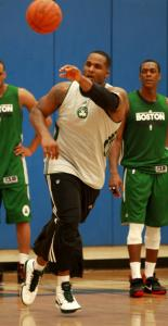 Glen Davis is concerned about his role on the team with the changes the Celtics made in the offseason.