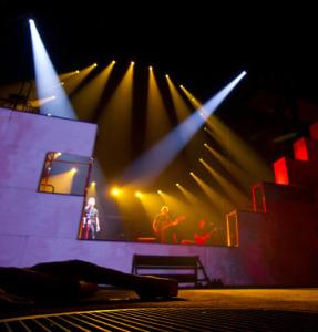 """The staging of Roger Waters's """"The Wall Live'' is a big artistic achievement."""