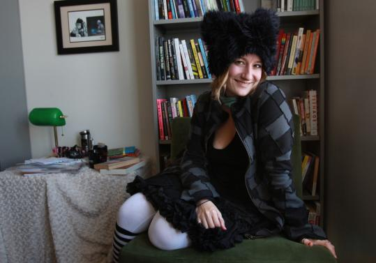 Danah Boyd, 32, has a style that fits in with that of her research subjects.
