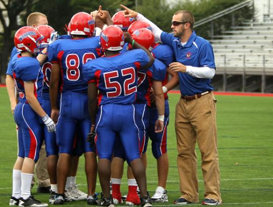 For ex-Northeastern player Alex Dulski, working with Brookline High, football life goes on.