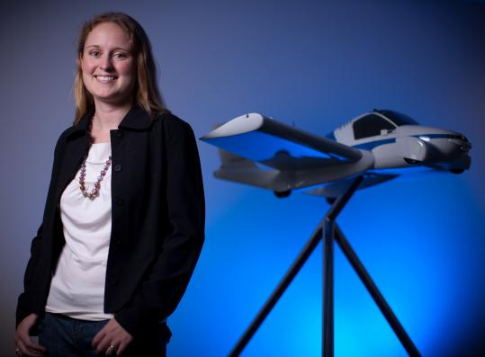 ANNA MRACEK DIETRICH Her company in Woburn, Terrafugia, is designing a flying car for which she hopes buyers would pay $200,000 to $250,000. Dietrich was educated at MIT's Department of Aeronautics and Astronautics.