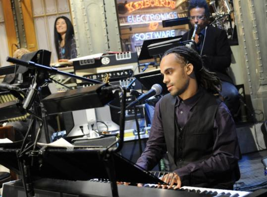 "Roxbury's Tuffus Zimbabwe beat out 28 others to join the house band on ""Saturday Night Live.''"