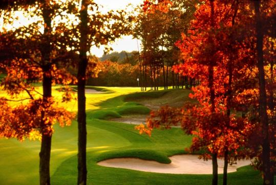 The International golf resort (pictured) features seasonal deals, such as a New England fall wine tour vacation package that includes overnight accommodations and an afternoon tour at Nashoba Valley Winery.