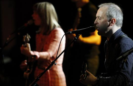 The Vaselines' Frances McKee and Eugene Kelly played songs from the 1980s and 2010 at the Paradise Tuesday.