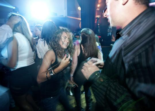Vanessa Molle lets loose at a recent dance night at Royale.