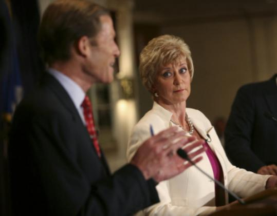 Linda McMahon, gaining in the polls, debated Richard Blumenthal last week.