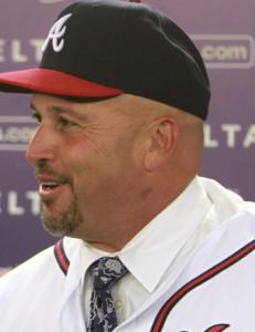 New Braves manager Fredi Gonzalez isn't worried about following Bobby Cox.
