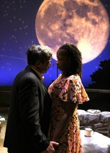 "Will McGarrahan and Ramona Lisa Alexander in the Nora Theatre Company's ""A Moon for the Misbegotten.''"