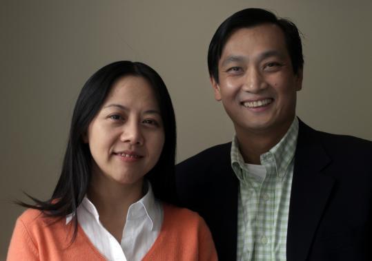 Julia Dan is chief executive and Paul Tu is president of BGI Americas Corp.