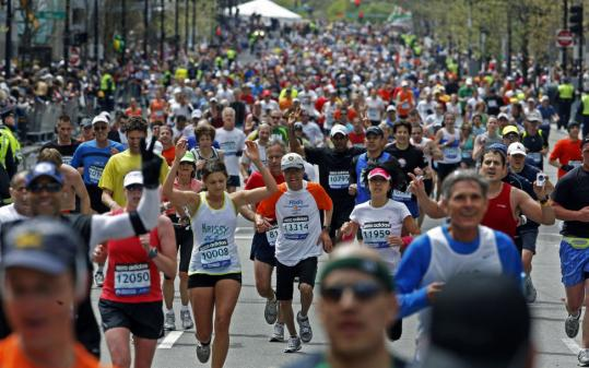 Filling the 20,000 spots for qualifiers stunned the Boston Athletic Association.