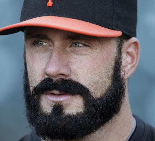 His mound antics, excellent pitching, and bushy beard, of course, have made the Giants' Brian Wilson a celebrity.