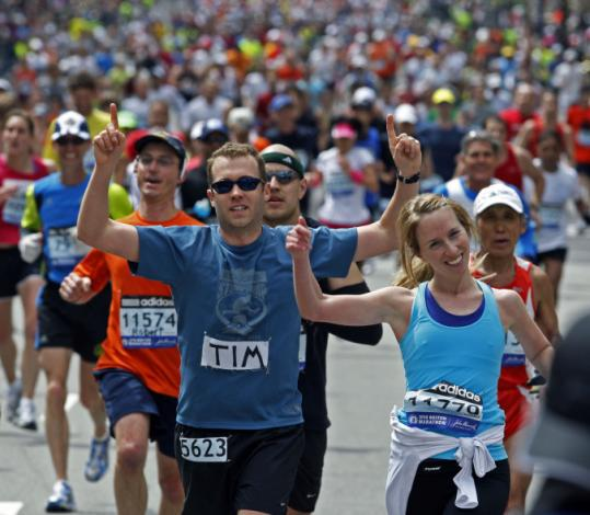 It took only eight hours Monday to fill the 20,000 available spots for qualifiers for the 2011 Boston Marathon.