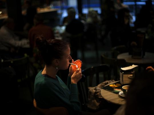 Spain is among Europe's last remaining countries where patrons can smoke freely in restaurants.