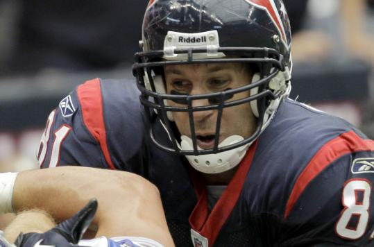 Texans tight end Owen Daniels could provide a huge boost over the second half of the season.