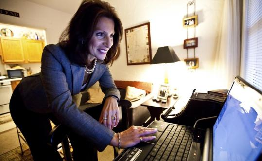 After her Career Makeover, Marguerite Gallinaro prepared a PowerPoint presentation for an interview that landed her a job.