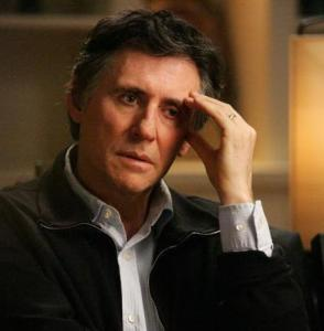 Gabriel Byrne appears in every scene of HBO's four weekly episodes.
