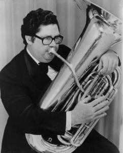 Harvey Phillips, known to many as Mr. Tuba, waged a lifelong campaign to improve his instrument's image.