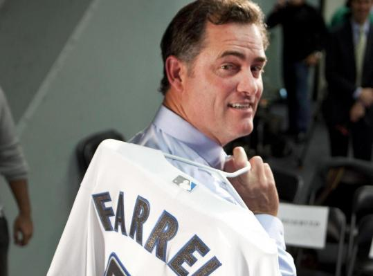 John Farrell will be toting a new jersey around MLB stops next season as Blue Jays manager.