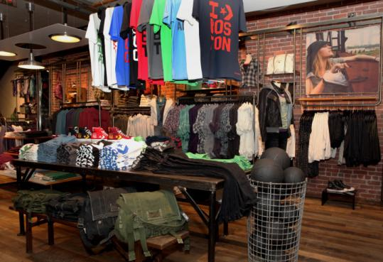 ae3df681f9 Converse steps up its game with concept store - The Boston Globe