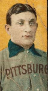 A prized card: Honus Wagner.
