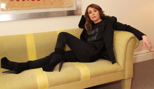 "Noomi Rapace, pictured in London last March, says she did ""everything I could to become'' Lisbeth Salander. ""I opened up a little anger, a little aggression.''"