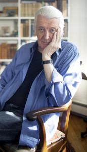 Matthew Carter says he developed his appetite for reading as a child during wartime.