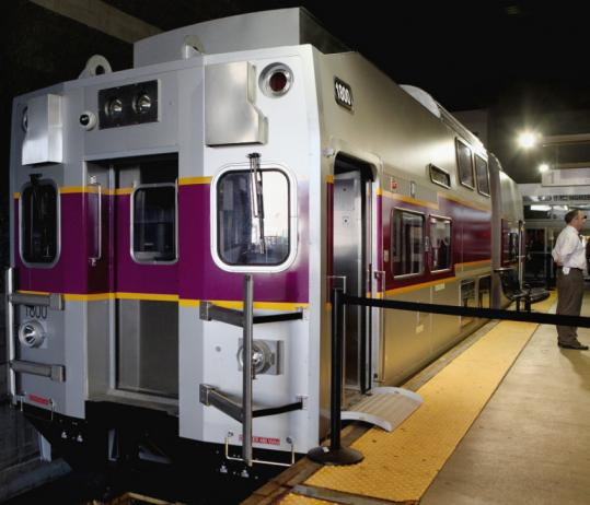 New Commuter Rail Cars Can Be Previewed This Week The