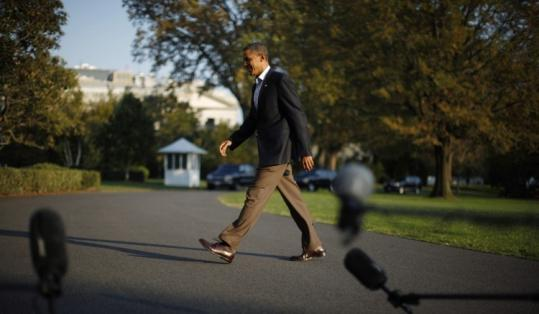 President Obama could carve out some middle ground with GOP legislators if control of Congress shifts.