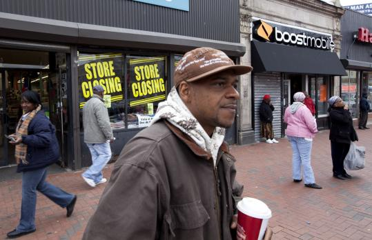 """In Dorchester, Clifton Braithwaite said he voted for Deval Patrick because """"he did not have time to achieve what he set out to do.''"""