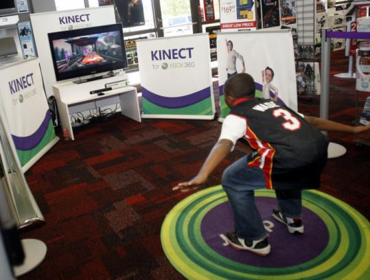 Kinect, Microsoft's new controller for Xbox 360, lets users access entertainment with a gesture or spoken command.
