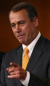 President Obama and House Republican leader John Boehner (left) said they would work together.