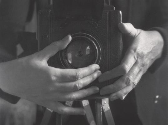 "Alma Levenson's ""Self-Portrait'' consists of just her hands and her camera."