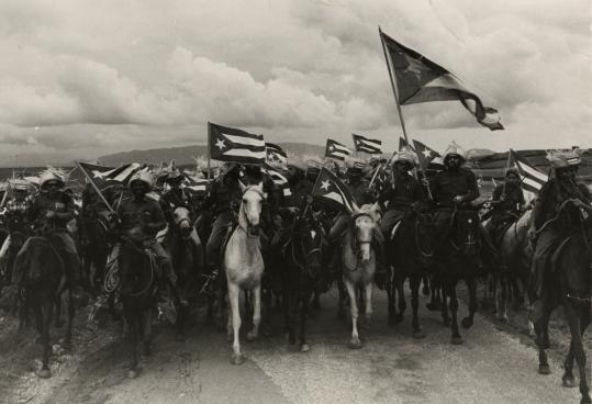 """Raul Corrales's """"La Caballeria (The Cavalry).''"""