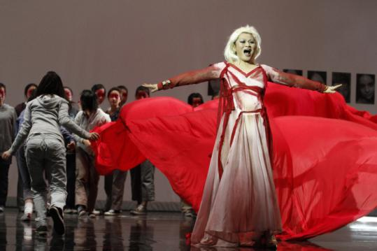 Opera Boston's co-commissioned work got its Eastern premiere at the Beijing Music Festival last month.