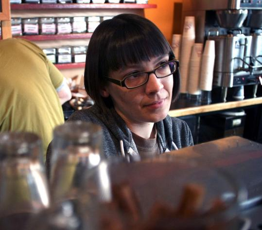 Annabel Gill, general manager of a coffee shop in Inman Square, had nothing to smile about last January. She was in a much better mood last week after voters mostly went for Democrats. ''I was really relieved,'' she said.