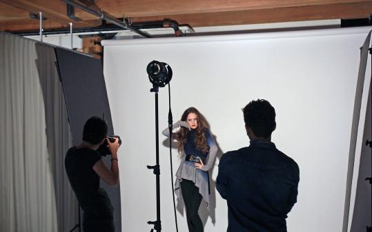 Rue La La staffers photograph each of the items the company sells instead of using images provided by a manufacturer.