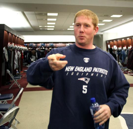 Shayne Graham has found a new home in the Patriots locker room, and he looks forward to kicking in with some points.