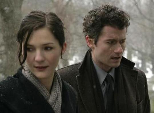 "Jessica Collins and James Badge Dale in ""Rubicon,'' which was canceled after one season."