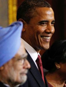 President Obama met with India's Prime Minister Manmohan Singh in New Delhi earlier this week.